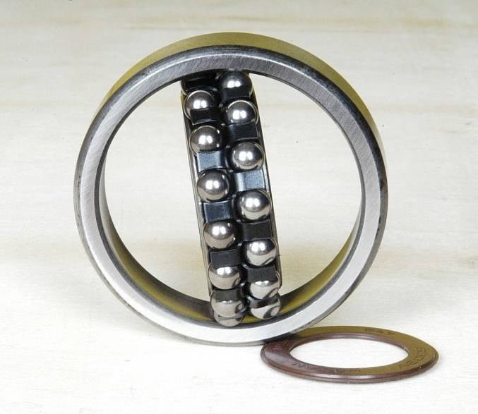 40 mm x 80 mm x 18 mm  NKE 1208-K self aligning ball bearings